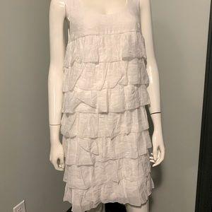 Ali Ro Tiered White Dress